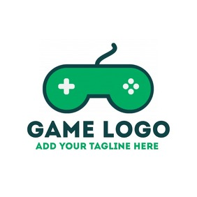 Joystick game logo for app