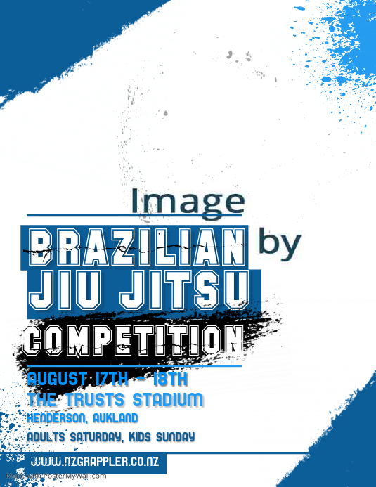 Judo Competition Poster template | PosterMyWall