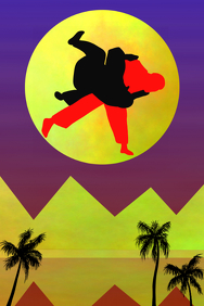 judo - martial art poster for wall decor