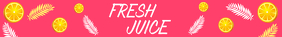 Juice and Detox Bar Etsy Banner