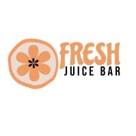 Juice Bar health food logo template