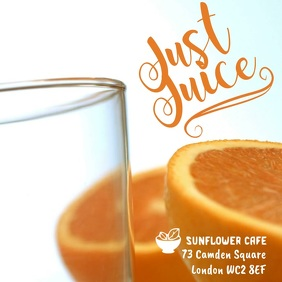 Juice Bar Instagram Template