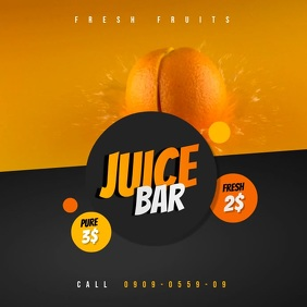 Juice Bar Video Template