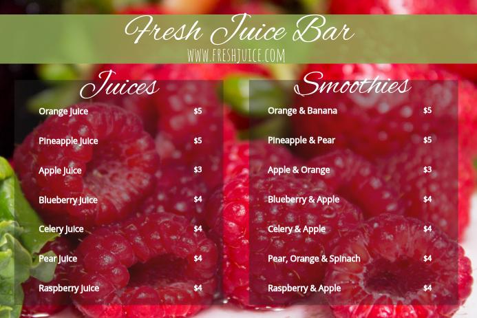 9 juice menu designs templates u2013 migliori pagine da colorare