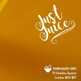 Juice Smoothie Video Template