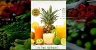 JUICING VIDEO SLIDESHOW FOR FACEBOOK template