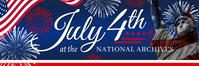July 4th Independence Day Banner Template