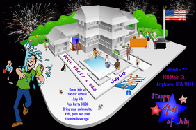 July 4th Pool Party and BBQ
