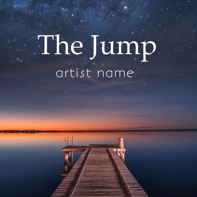 Jump album art template