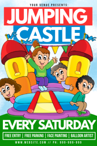 Jumping Castle Poster