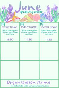 June Upcoming Events Beachy Calendar