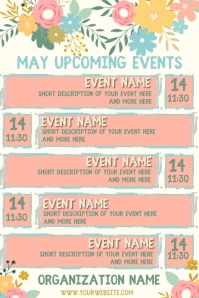 June Upcoming Events Calendar