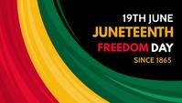 Juneteenth,event En-tête de blog template