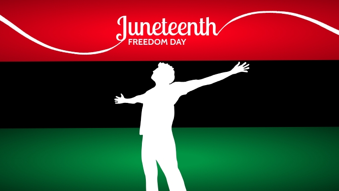 Juneteenth Freedom Day Template Facebook Cover Video (16:9)