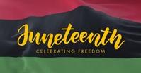 Juneteenth Freedom Day Video Template Gambar Bersama Facebook