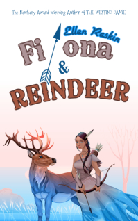 Jungle Girl Reindeer Book Cover Template
