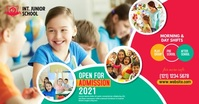 Junior School Admission Open Advert template