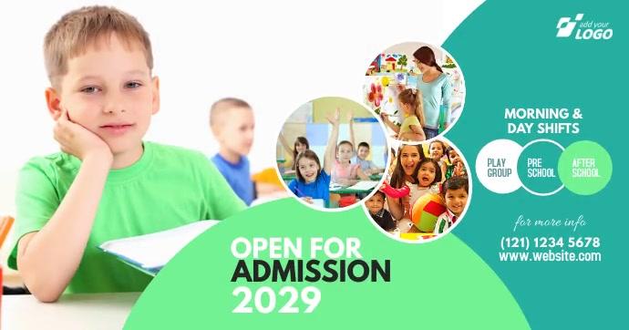 Junior School Admission Open Advert template