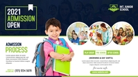 Junior School Admission Open Post di Twitter template
