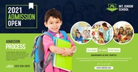 Junior School Admission Open Facebook Shared Image template