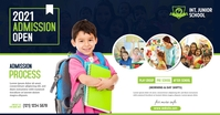 Junior School Admission Open Obraz udostępniany na Facebooku template