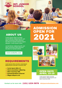 Junior School Flyer Template