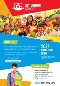 Junior School Flyer Template