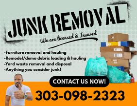 Junk Removal Flyer