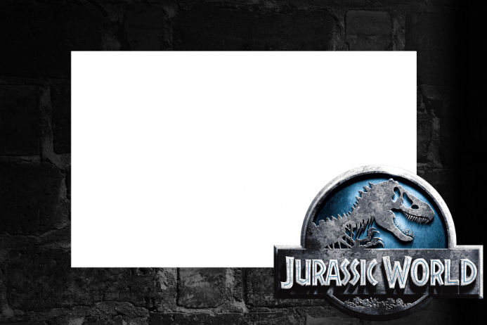 Plantilla De Marco De Utillaje Jurassic World Party Postermywall