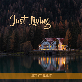 Just living ALBUM ART