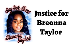 justice for breonna taylor Postcard template