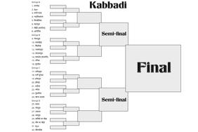 kabbadi schedule