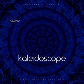 Kaleidoscope Abstract Digital CD Cover Art