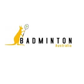 Kangaroo Badminton Logo template
