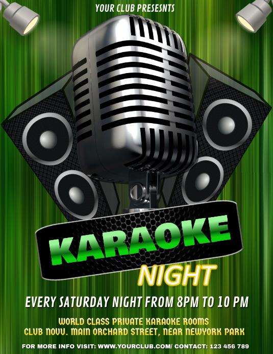 Karaoke, Karaoke Night, St. Patrick's Karaoke Night
