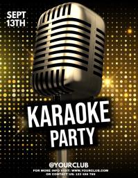 Karaoke, Karaoke posters, Karaoke Night, jazz