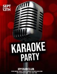 Karaoke, Karaoke posters, Karaoke Night