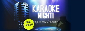 KARAOKE Facebook-coverfoto template