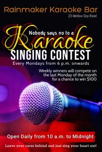 karaoke bar template
