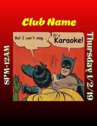 Karaoke Batman