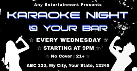Karaoke Facebook Event C template