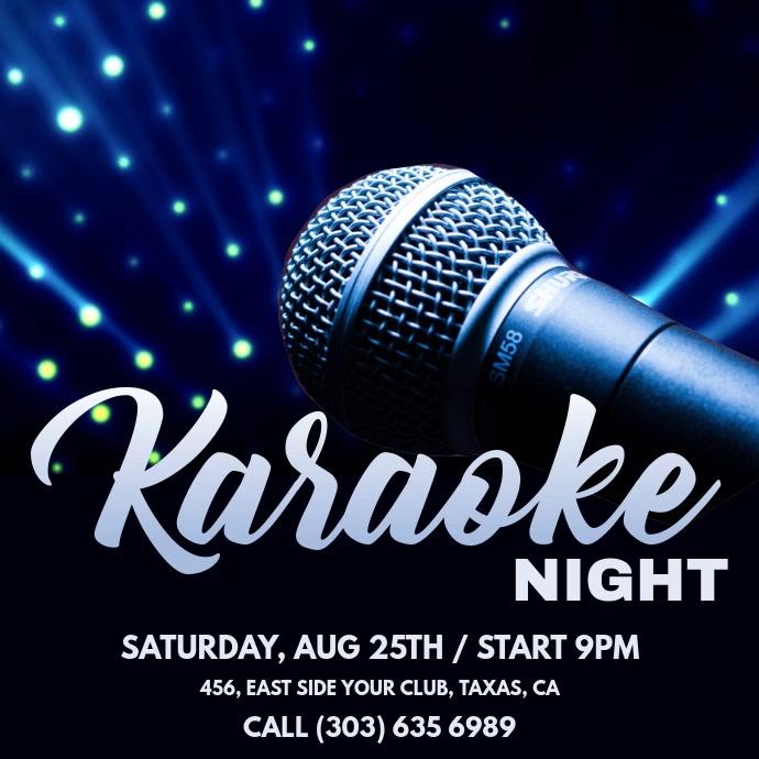Karaoke Night Ad