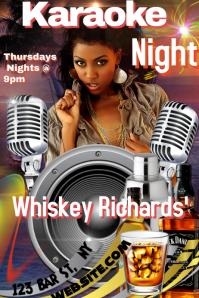 Karaoke Night Template