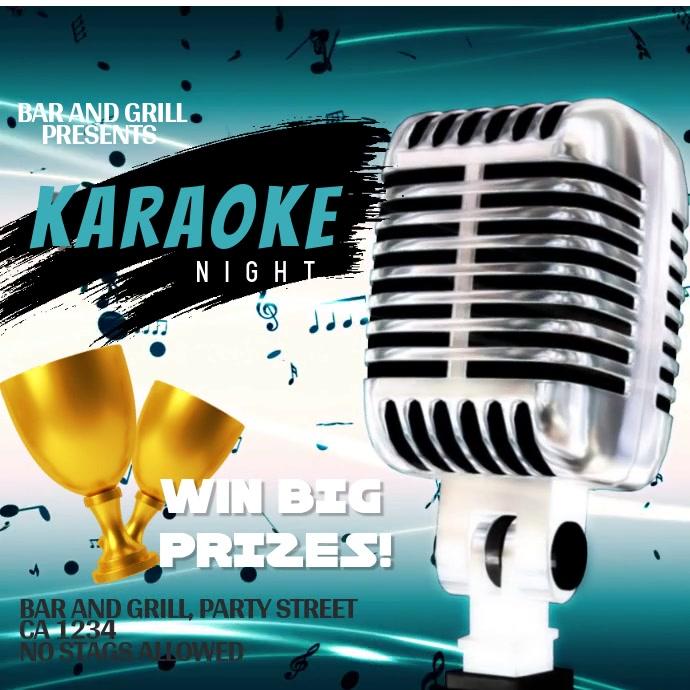 Karaoke Night Video Instagram