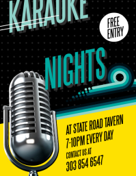 Karaoke Nights Flyer