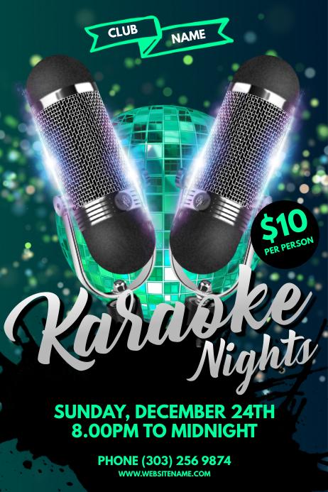 Karaoke Nights Poster