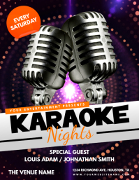 Karaoke Nights Flyer Template