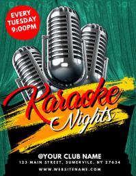 Karaoke Nights Flyer