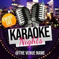 Karaoke Nights Instagram Post Wpis na Instagrama template