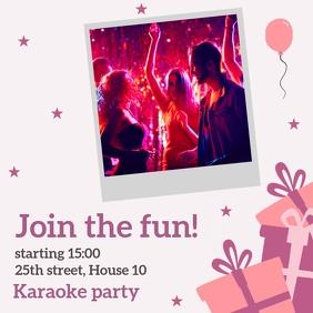 karaoke party & dance and ballet